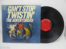 The Adventurers - Can't Stop Twistin' - Columbia CL 1747 LP Vinyl Record