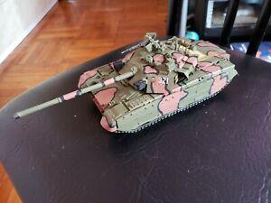 "1:35 Scale Built Ukrainian Main Battle Tank T-84""Oplot"""