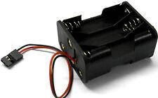 C1205-2 RC Batterie Support Étui Boîte Paquet 6 AAA Compatible Jr 3 Broche