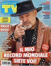 Sorrisi 2017 26.Vasco Rossi,Veronica Maya,Pivetti,Lino Banfi,Soy Luna