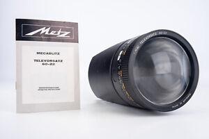 Metz Televorsatz 60-22 Telephoto Flash Attachment for Mecablitz with Manual V15