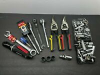 Lot of 85 NEW Husky Tools Sockets Ratchets Universal Joints Air Wrench -WARRANTY