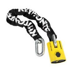 Kryptonite Chain NY Legend With New York PadLock 15mm Links Yellow High Security