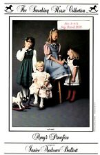 Smocking Horse Sewing Pattern Girl's AMY'S PINAFORE AP-1011 Sz 3-4-5-6-6X UNCUT