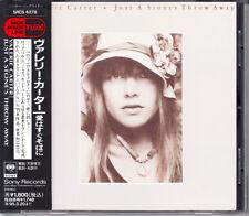 Valerie Carter nur einen Steinwurf 1993 Japan CD 1st Press mit OBI SRCS - 6278