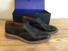 "Allen Edmonds ""Strandmok"" Cap-Toe Oxfords 9.5 D  Black   (331)"