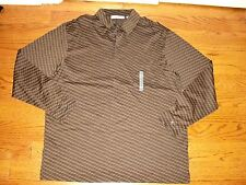 "NWOT""MURANO""Colaziona 100%Puma Cotton 3 Button Closure Long Sleeve Shirt size L."