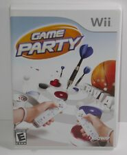 Game Party (Nintendo Wii, 2007) COMPLETE