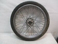 Harley-Davidson Laced Spoked MH90-21 Front Wheel Rim OEM Take-Off part