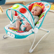 Fisher-Price Babywippe Piano Licht Musik Vibration FTX89 Babyschaukel Wipper NEU