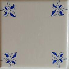 Delft Tile Kitchen  and Bath Historic Fluer De Lis