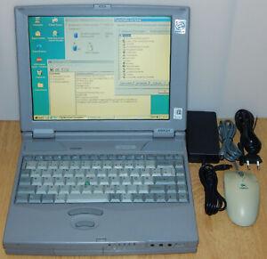 "12,1"" Laptop Notebook Toshiba Satellite Pro 440CDT 133MHz 1GB 48MB Windows 98 SE"