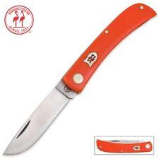 Kissing Crane Tangerine Folding Pocket Knife KC5350 NEW Sodbuster Orange Farmer