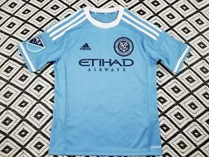 MLS New York City Football Club Youth Medium Soccer Jersey