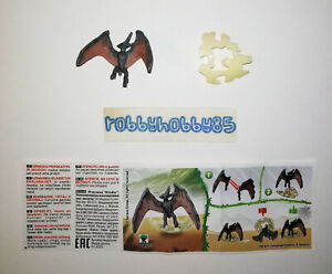 VV436 PTERANODON (BASE AVORIO) + BPZ KINDER JOY ITALIA 2021 JURASSIC WORLD