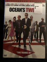 Ocean's Twelve 12 (Widescreen )DVD George Clooney Brad Pitt ( FACTORY SEALED )