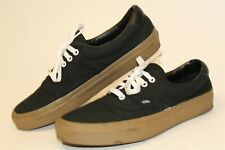 VANS Off The Wall Mens Size 10.5 44 Canvas Low Lace Up Skateboard Shoes 751505