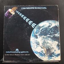 No Artist - Audio Image Production Library LP VG+ MBS 78-002 Vinyl Samples