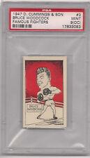 1947 D CUMMINGS & SON # 3 BRUCE WOODCOCK PSA 9 O/C
