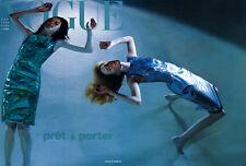 Vogue Italia Magazine 1999 MALGOSIA BELA Devon Aoki MAGGIE RIZER Helmut Newton