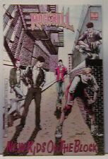 1990 New Kids On The Block Rock N Roll Comics #12 Comic Book Nkotb Rare!
