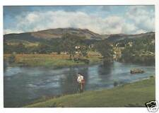 More details for river teith at callander - photo postcard c1950