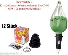 Bootgun Manschettenspreizer Montagegerät + 12 x Universal Achsmanschette BG-CV96
