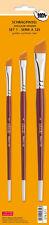 Schrägpinsel-Set - 3-teilig - Serie A125 - 576571