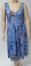 RIMINI ITALYTHEIR SIZE SEVEN VISCOSE AND SPANDEX SLEEVELESS DRESS,LAVENDER MIX.