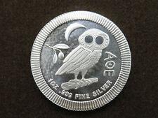 2017 Niue 1 oz Silver Coin Two Dollars $2 Owl of Athena AOE Elizabeth II
