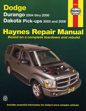 Réparation Instructions Dodge Dakota 05-11 & Durango 04 - 09