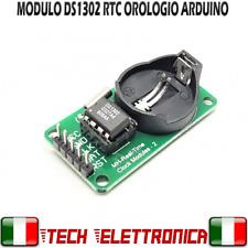 Modulo RTC DS1302 Real Time Clock Timer clock INTEGRATO 1302