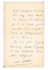"""L'ECRIVAIN (AMI DE LEON BLOY) EMILE BAUMANN SUR SON ROMAN """"IMMOLE"""" EN 1908"""