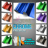 * 9 Colors Premium Chrome Vinyl Film Wrap Sticker Decal Air Release Bubble Free