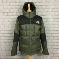 THE NORTH FACE MENS UK M KHAKI BLACK HIMALAYAN DOWN HOODED JACKET RRP £200 PUFFA