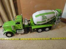 Ertl Big Farm concrete, cement mixer truck. Construction equipment model toy.