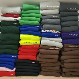 "Soft Anti pill Polar FLEECE Fabric 22 colours FREE P&P washable, 150cm/ 60"" wide"