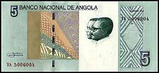 Angola 2012/2017 year 5 Kwanzas BrandNew Banknotes