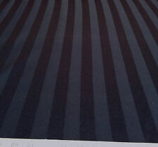 Discount Tablecloth Fabric Brocade Satin Stripe Black DR20