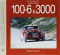 Austin Healey 100-6 & 3000 (Rally Giants) by Graham Robson, NEW Book, FREE & FAS
