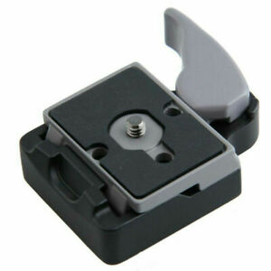 Quick Release Plate Clamp  for Manfrotto 200PL-14 323 RC2 System Tripod Ku