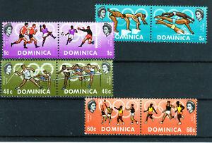 Dominica set of 8 Olympics Mexico lmmint [D2005]