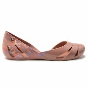 ZAXY Womens Liquid Shell Ballerina Shoes Pink