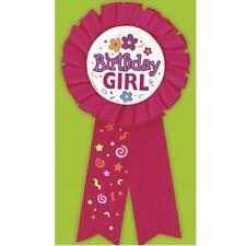 Unique Party 90600 - Birthday Girl Rosette