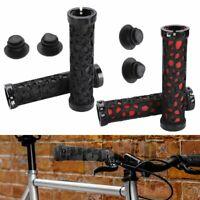 Bike Grips Rubber Mountain Bicycle MTB BMX Handlebar Ergonomic Cycling Lock On