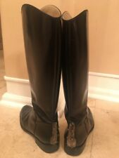 Gianfranco Ferre Leather Boots Women Size EU 40 / US 9 or 9,5  Made In Italy