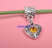 5pcs gold Tibetan Silver Charm Pendant Bail Connector Fit Bracelet Necklace 22MM