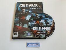 DVD Bonus - Cold Fear - Promo - Microsoft Xbox / PS2 / PC - FR