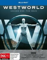 Westworld : Season 1 (Blu-ray, 2017, 3-Disc Set)