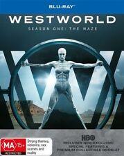 Westworld : Season 1 (Blu-ray, 2017, 3-Disc Set)